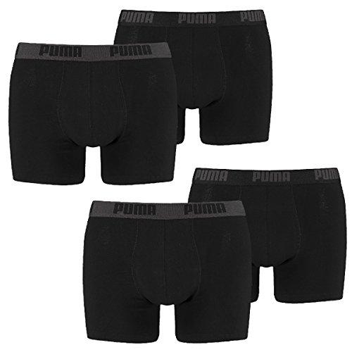 PUMA Herren Basic Boxer 2P, black, L, 521015001