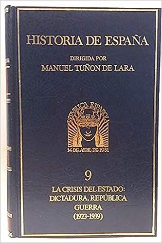 Historia de España, tomo IX: Amazon.es: TUñON DE LARA: Libros