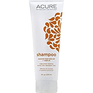 Acure Organics Natural Shampoo - Ultra Hydrating with Argan, 8 ounces