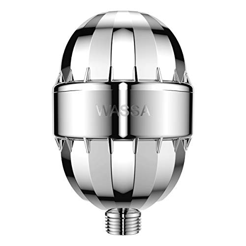 Stage Oval Water - 15 Stage Shower Filter - Dramatically Purifies Your Water & Revitalizes Your Body - Fits Any Shower Head