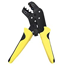 HURRISE Professional Multifunction Wire Strippers Ratcheting Effort-Saving Cable Crimper Automatic Plier Terminal Tool