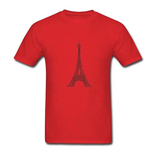NYShirt Men's Eiffel Tower Logo Short Sleeve T-Shirt