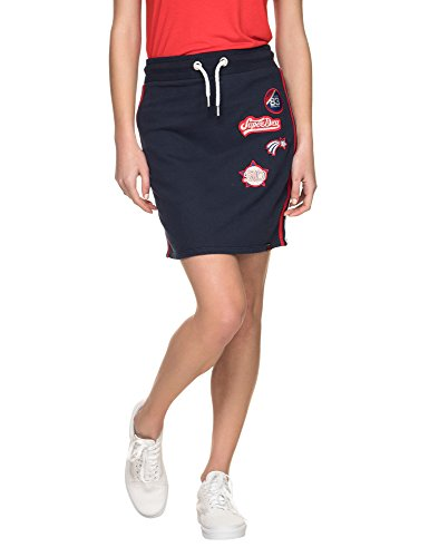 Superdry Women's Pacific Women's Navy Mini Skirt In Size M Navy by Superdry