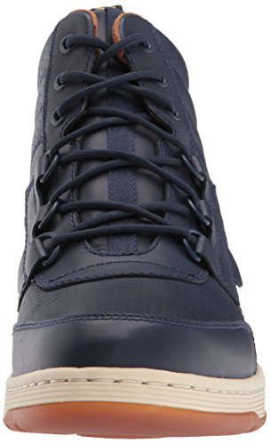 Dr. Martens Mens Derry Stivaletti Indaco Temperley + Perfed Temperley