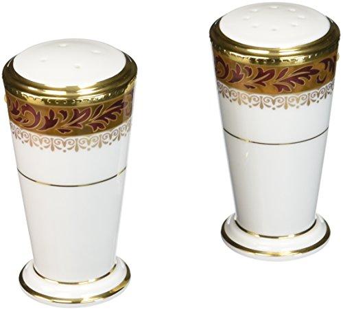 - Noritake Xavier Gold Salt & Pepper Shakers