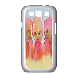 LASHAP Phone Case Of Art New Artist flower girl,Hard Case !Slim and Light weight and won't fade, Scratch proof and Water proof.Compatible with All Carriers Allows access to all buttons and ports. For Samsung Galaxy S3 I9300