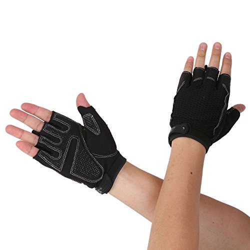 Riiya Women Gloves Half Finger Gloves for Weight Lifting Gym Training Ladies Sports Workout Fitness - Ladies Gym