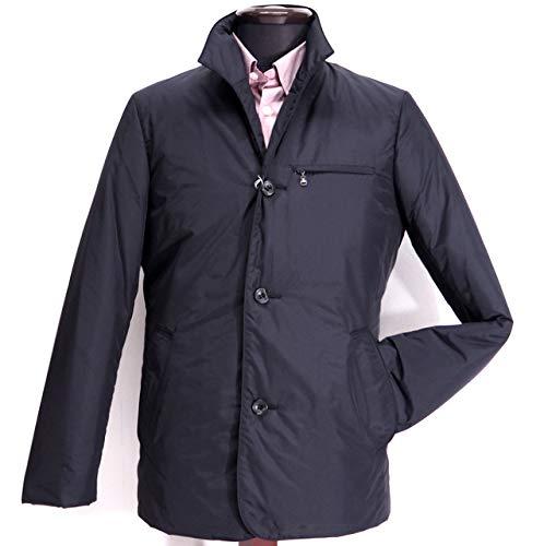 40986 秋冬 日本製 ダウンコート ハーフコート ジャケット ブルゾン ブラック(黒) サイズ 48(L) G&G GEEGELLAN ジーゲラン 紳士服 メンズ 男性用