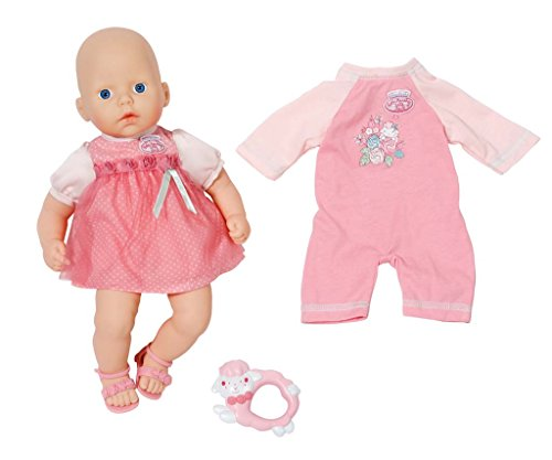 Zapf Creation 794333 - my first Baby Annabell, Rosen-Set mit Strampler, rosa