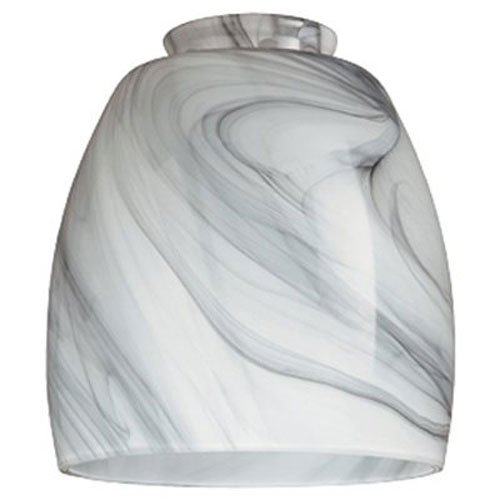 WESTINGHOUSE Lighting Corp 8140900 Handblown Pendant Lamp Shade, 2-1/4