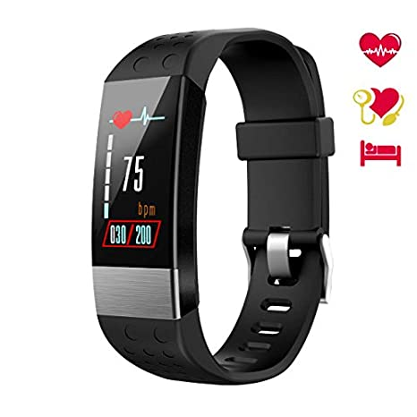 WiMiUS Fitness Tracker Color Screen, Smart Watch Heart Rate Monitor, IP67 Waterproof Activity Tracker