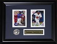 Vladimir Guerrero Jr. Toronto Blue Jays MLB Baseball Memorabilia 2 Card Frame