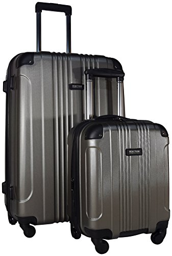 Kenneth Cole Reaction Out of Bounds 2-Piece Set: 28'' Spinner and Expandable Under Seat Bag (Silver) by Kenneth Cole REACTION