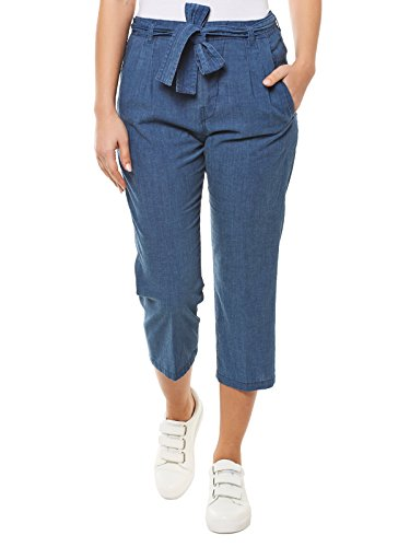 DRYKORN Crop Relaxed Fit Jeans 30/32 blau