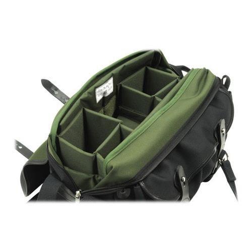 Billingham 335 Black Canvas Camera Bag with Black Leather Trim by Billingham (Image #3)