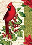 Cardinal & Holly – 28 Inch By 40 Inch Large Decorative Flag – Winter Christmas Review