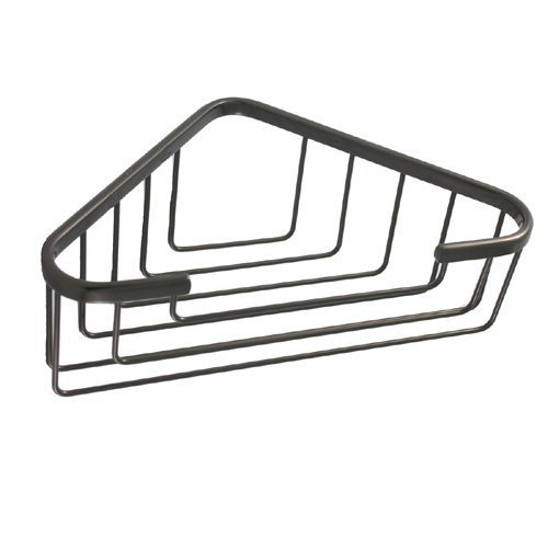 Allied真鍮Largeソリッドコーナーシャワーバスケット BSK-50ST-BKM 1 B003XRJ9DG マットブラック マットブラック