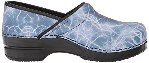 Sanita Women's Smart Step Pro. Monsoon Clog Blue