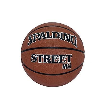 Spalding NBA Street Balón de Baloncesto, Unisex, Naranja, 7 ...