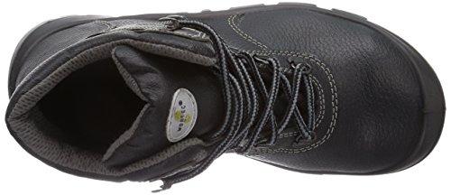Wortec Achim S2 - Calzado de protección unisex, color negro/ negro, talla 39