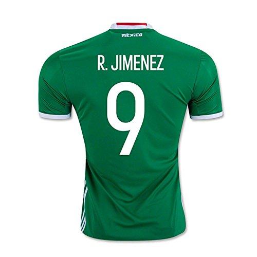 コレクション荷物キリストadidas R. Jimenez #9 Mexico Home Jersey Copa America Centenario 2016 - YOUTH/サッカーユニフォーム メキシコ ホーム用 ジュニア向け