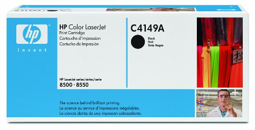 HP LaserJet C4149A Black Print Cartridge in Retail Packaging