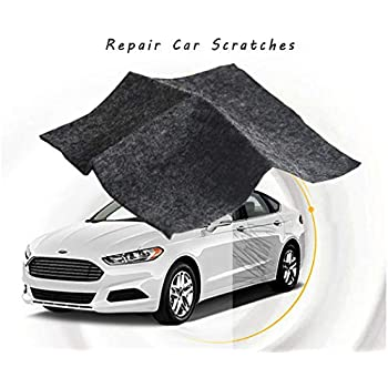 LODY Car Scratch Remover Cloth, Upgraded Version Scratch Removal for Cars, Nano Technology to Repair Car Scratches and Car Surface Polishing, Used for Light ...