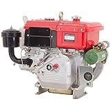 Motor Estacionário Changchai CH-R190NM, diesel, 10,5hp/7,7kw, 2300rpm, refrig.a água, c/radiador, c/part.elétrica