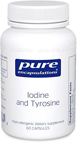 Pures Encapsulations - iode et Tyrosine 60 ' s