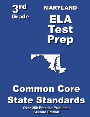 Maryland 3rd Grade ELA Test Prep: Common Core Learning Standards pdf epub