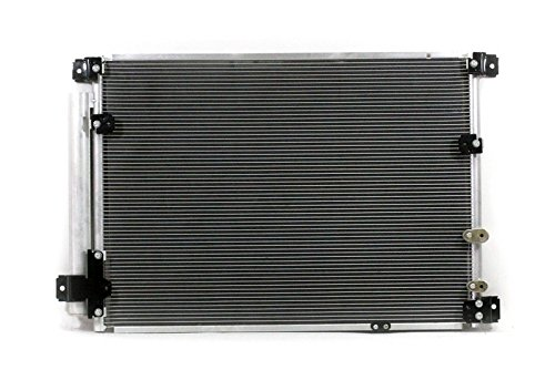 A-C Condenser - Pacific Best Inc For/Fit 3875 09-14 Cadillac CTS-V V8 6.2L WITH Receiver & Dryer