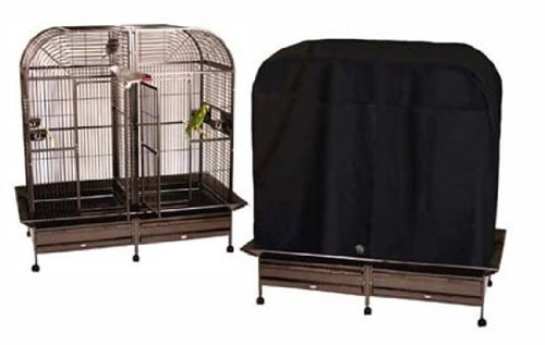 Cage Cover Model 6432MD for large side-by-side cages Cozzy Covers parrot bird toy toys CozzyCovers