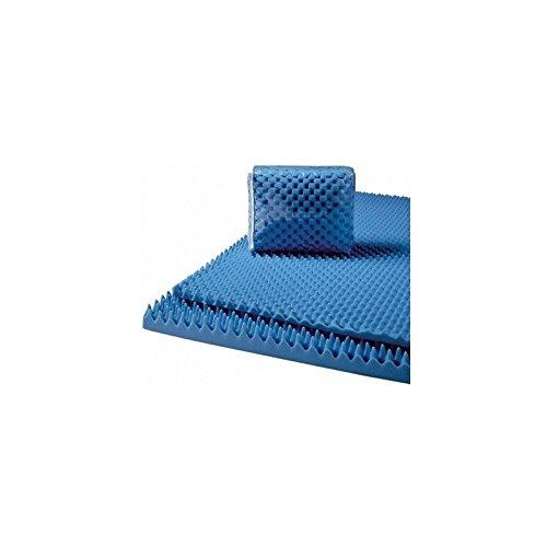 Convoluted Foam Mattress Pads Size: King, Thickness: 2''