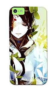New Illumineizl Super Strong Eyepatched Girl Tpu Case Cover Series For Iphone 5c by icecream design