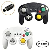 GameCube Controller Compatible with Nintendo Gamecube Switch Wii U for Super Smash Bros 2 Packs Classic Wired NGC Controllers for Switch PC Wii u with Turbo Function