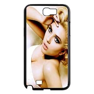 Samsung Galaxy N2 7100 Cell Phone Case Black_Scarlett Johansson In White Dress Gpwyp