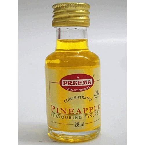 6 x PURE PINEAPPLE ESSENCE **FREE UK POST** NATURAL PINEAPPLE EXTRACT LIQUID COOKING FOOD CAKES BAKING FLAVOUR FRUIT ESSENCE