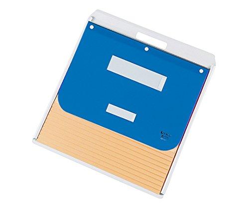 ケルン7-2806-01カーデックス(アルミタイプ洋紙製ポケット)A3A4(タテ2面)ブルー B07BD2JKXR