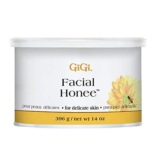 GiGi Facial Honee Hair Removal Wax for Delicate Skin, 14 oz