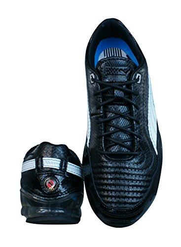 Black L Meio Mujer Puma Zapatos Operando Cell Negro De Cuero gzPqUA