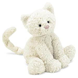 Jellycat Fuddlewuddle Kitten - 41w2VafIl3L - Jellycat Fuddlewuddle Kitten Stuffed Animal, Medium, 9 inches