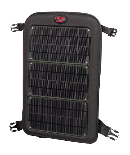 Voltaic Systems - Fuse 10 Watt USB Solar Laptop Charger with Backup Battery Pack - Charcoal   Powers Laptops, Phones, & More   Solar Charge your Laptop Anywhere by Voltaic Systems