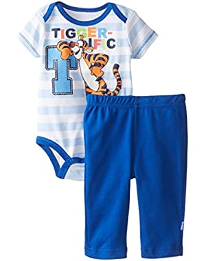 Disney Baby Boys  Disney Tiger Bodysuit and Pant Set