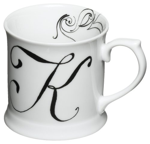 Rosanna Initially Yours Mug Letter K