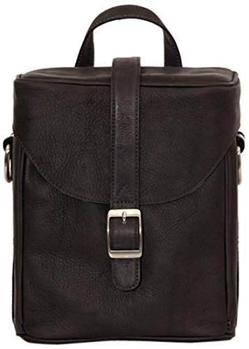 Jack by Jill-e Designs, Hudson All Leather Camera Bag, Brown (464064)