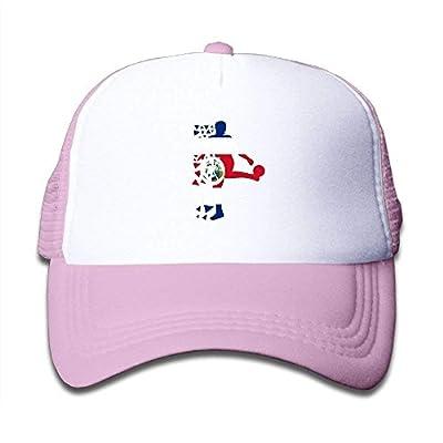 Boys&Girls Costa Rica 2019 Russia Football Mesh Hat Summer Snapback Baseball Caps Adjustable Trucker Caps