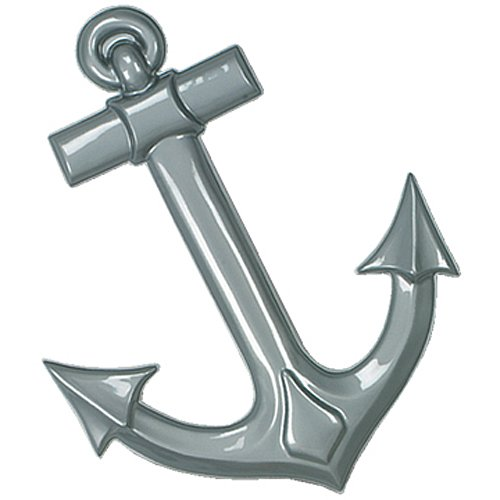 Anchor Decoration - Shindigz Gray Maritime Anchor