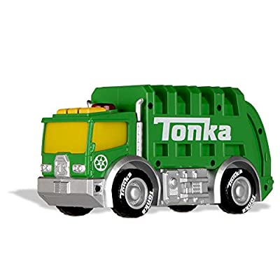 Tonka Mighty Force Lights & Sounds - Garbage Truck: Toys & Games