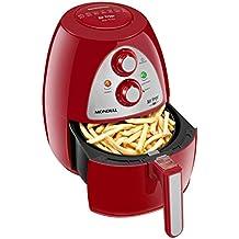 Fritadeira Premium, 220V, Mondial AF-14, Vermelho/Inox, Mondial, Fritadeira Inox RED Premium AF-14, Vermelho/Inox