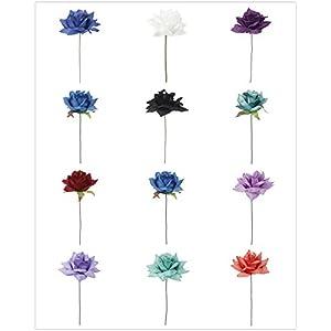 Angel Isabella Lot of 30 : Open Rose Artificial Keepsake Flowers/Stems 94